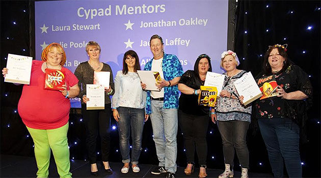Cypad Mentors at the catering awards 2018